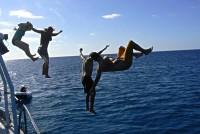 fun onboard Rum Runner