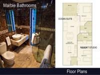 2 Bedroom Suite is made up of 1 bedroom Ocean Suite and Resort Studio