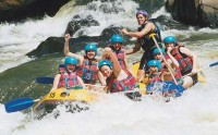 Raging Thunder Cairns Half Day Rafting Barron River